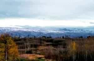 Nieve en Villa Yacanto